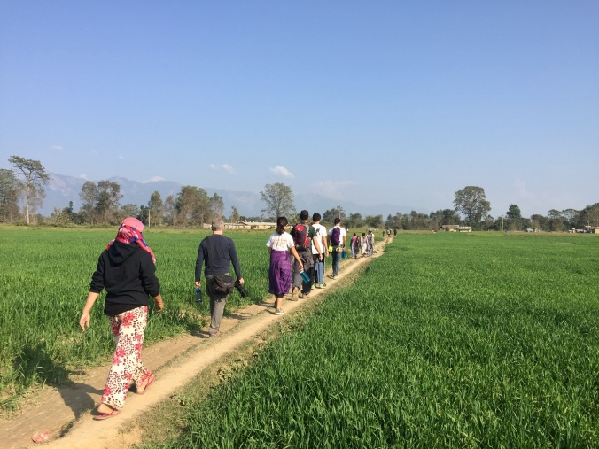 walking-in-the-village
