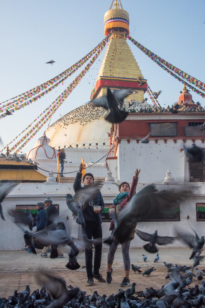 Getting to Kathmandu and departing Nepal