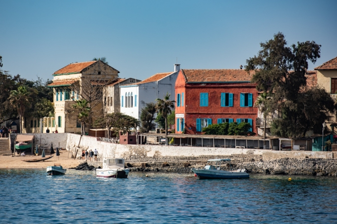 Goree from Ferry