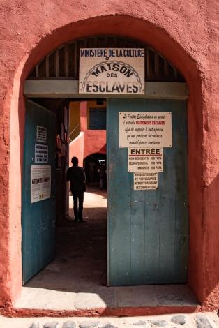 Slave House entrance